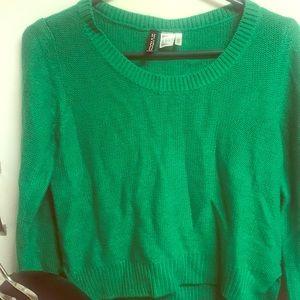 Hm green sweater